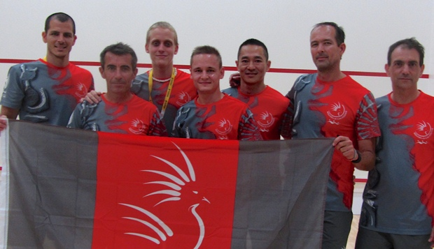 New Caledonia Mens Team Pacific Games 2015