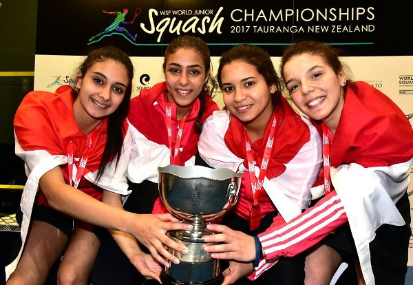Winning Egypt Team WJC 2017